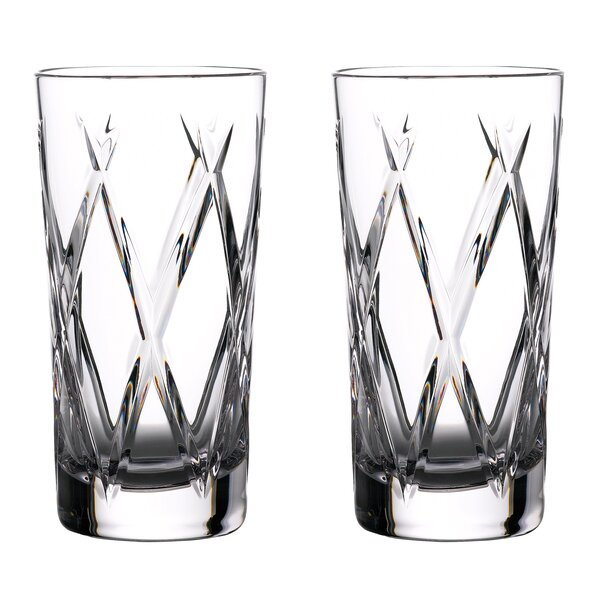Olann Hiball 16 Oz. Crystal Highball Glass (Set of 2) by Waterford