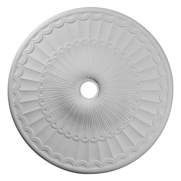 Galveston 36 5/8H x 36 5/8W x 2 3/8D Ceiling Medallion by Ekena Millwork