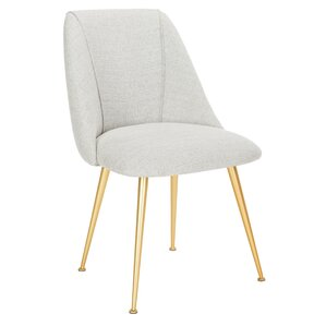Darrius Linen Blend Upholstered Side Chair by Willa Arlo Interiors