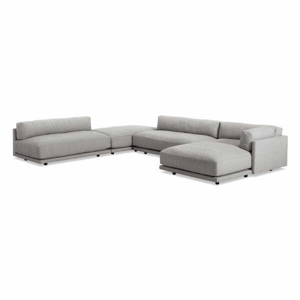 Sunday 156 Inches Modular Sectional By Blu Dot