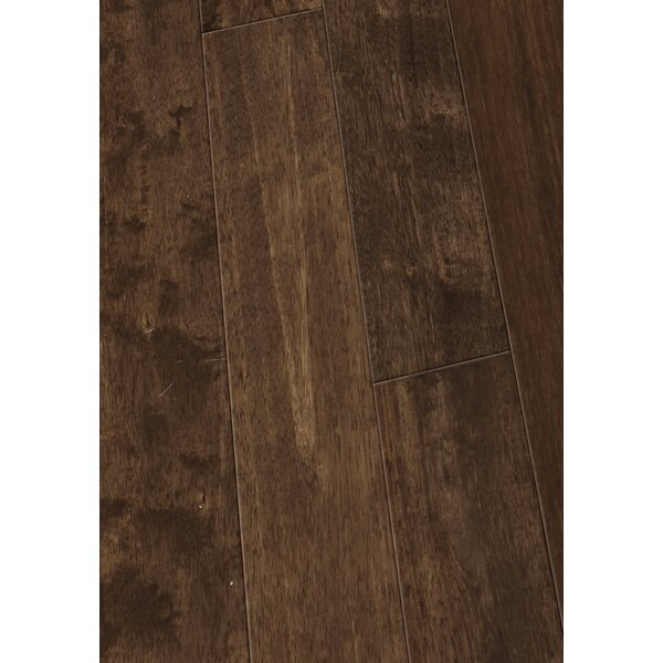 4.5 Solid Hevea Hardwood Flooring in Smooth Clay by Maritime Hardwood Floors