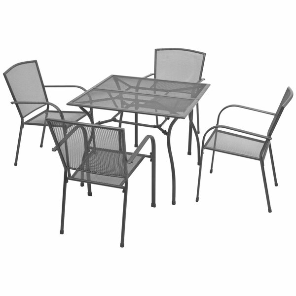Wyeth 5 Piece Dining Set by Winston Porter