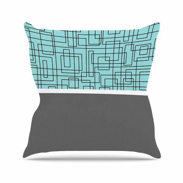 Trebam Pola Outdoor Throw Pillow by East Urban Home