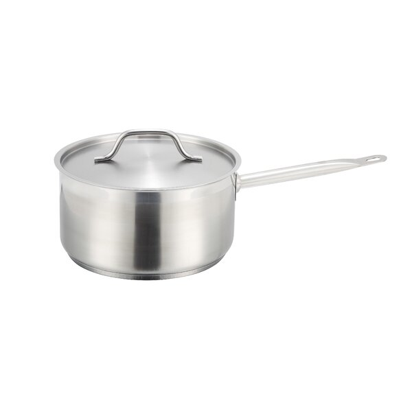 Saucepan with Lid by Winco