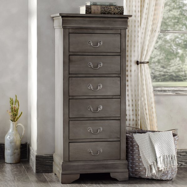 Lisle 6 Drawer Lingerie Chest by Lark Manor