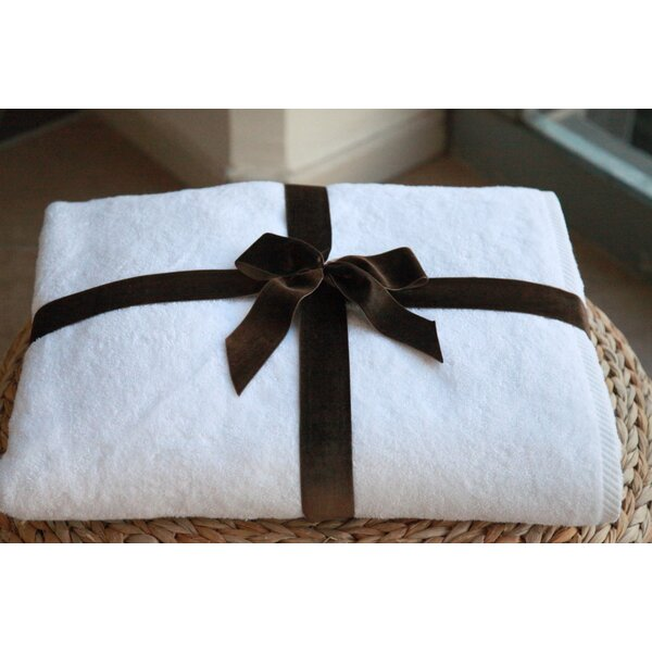 Soft Twist Turkish Cotton Bath Sheet by Darby Home Co