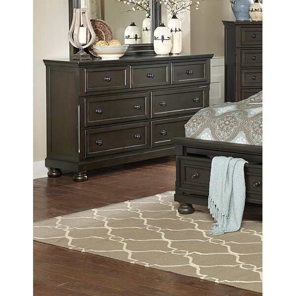 Dianna 7 Drawer Standard Dresser By Charlton Home®