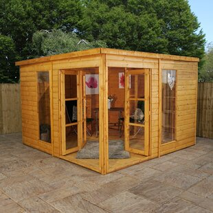 North Reading 10 X Ft Shiplap Corner Summer House