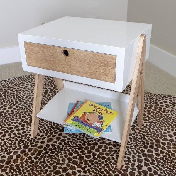 Roseville 1 Drawer End Table With Storage By Corrigan Studio