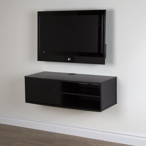 Agora Floating Mount TV Stand For TVs Up To 43