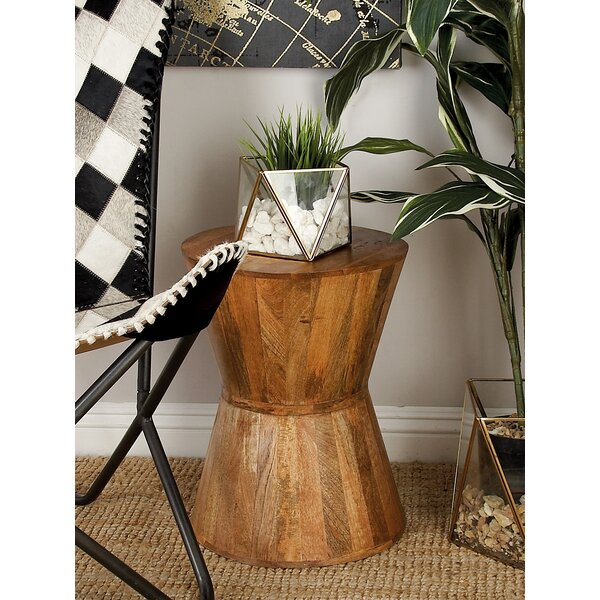 Wood Plant Accent Stool (Set of 2) by Cole & Grey
