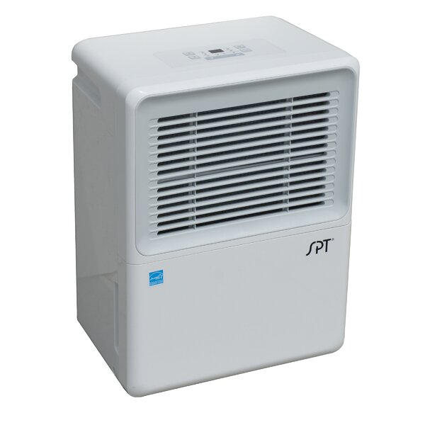 70 Pint Dehumidifier with Casters by Sunpentown