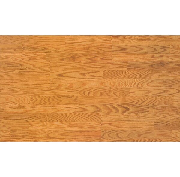 Home Series 8 x 47 x 7mm Oak Laminate Flooring in Butterscotch Oak by Quick-Step