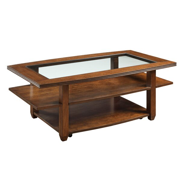 Signorelli Coffee Table With Tray Top By Ebern Designs