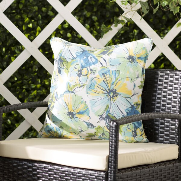 Alsace Penelope Indoor/Outdoor Throw Pillow (Set of 2) by Charlton Home