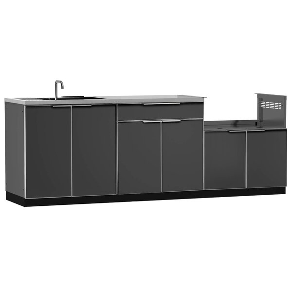 @ Kitchen 4 Piece Outdoor Bar Center Set by NewAge Products| #$2,699.99!