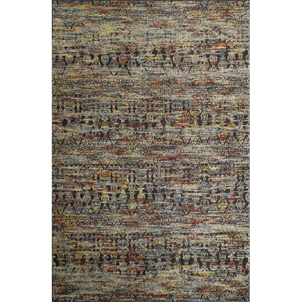 Kauffman Brown/Blue Area Rug by World Menagerie