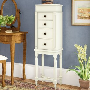 Best Reviews Bain Jewelry Armoire By Alcott Hill