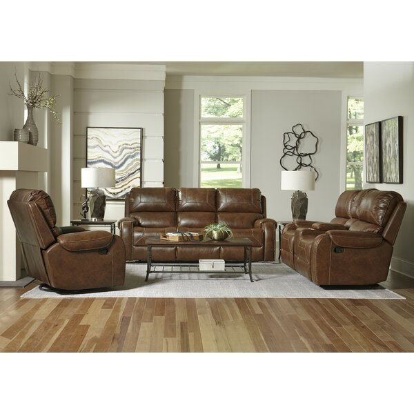 Winslow Reclining Configurable Living Room Set by Loon Peak