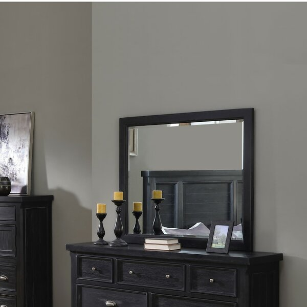 Sharan Rectangular Dresser Mirror by Darby Home Co