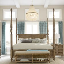 Gerakies Four Poster Bed with Canopy by Bay Isle Home