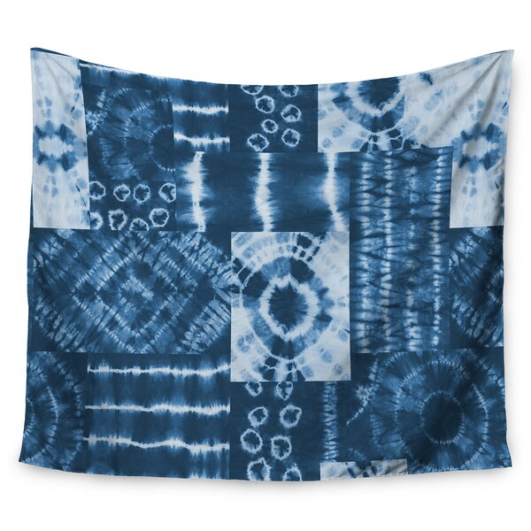Jacqueline Milton Shibori Patchwork - Wall Tapestry by East Urban Home