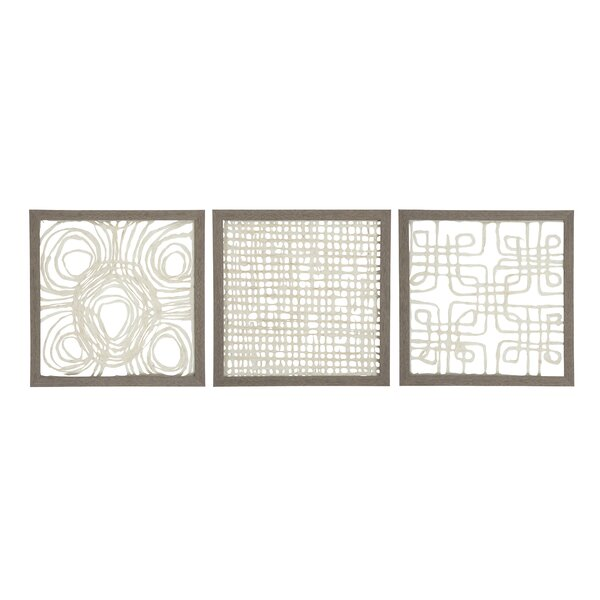 3 Piece Wood Frame Wall Décor Set by Bloomsbury Market