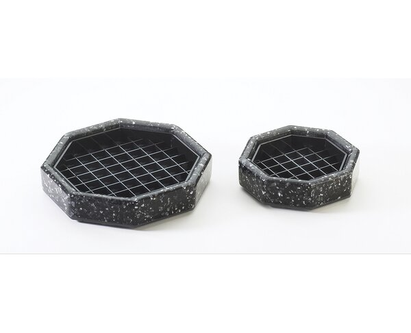 Octagon Stone Drip Tray by Cal-Mil