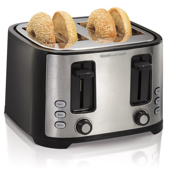 4 Slice Extra-Wide Slot Toaster by Hamilton Beach