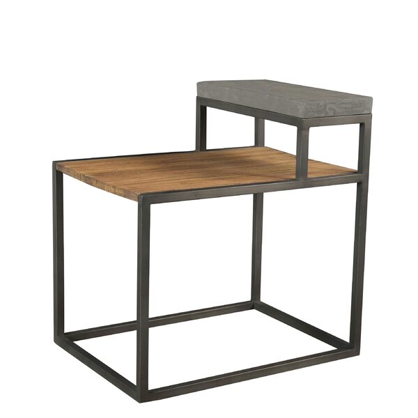 Buddy Step End Table by 17 Stories