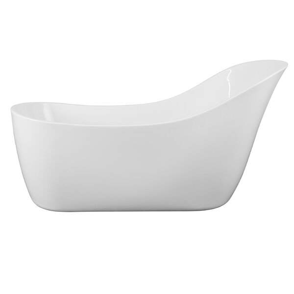 67.7'' x 35.43'' Soaking Bathtub by AKDY