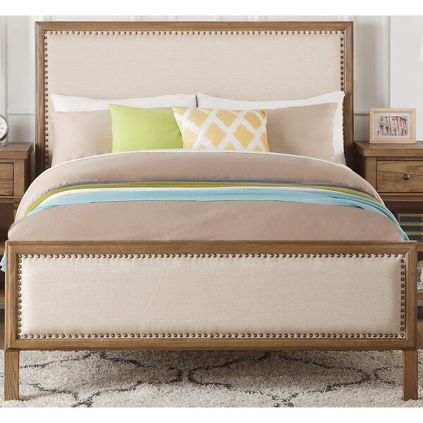 Leatrice Upholstered Standard Bed by Three Posts