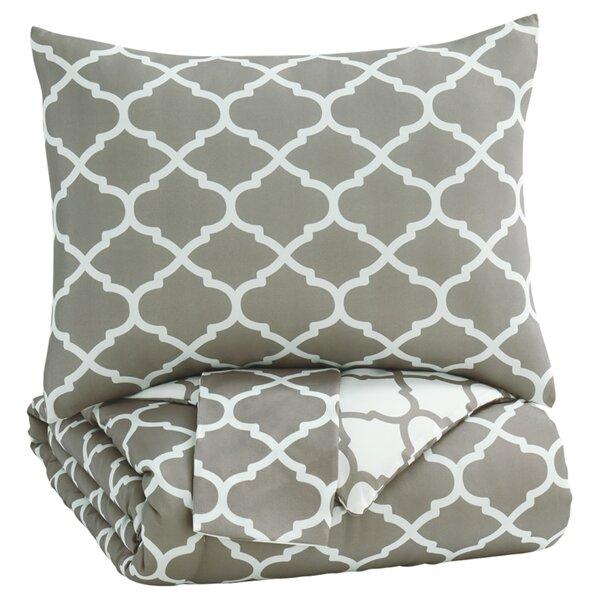 Aticus Comforter Set by House of Hampton