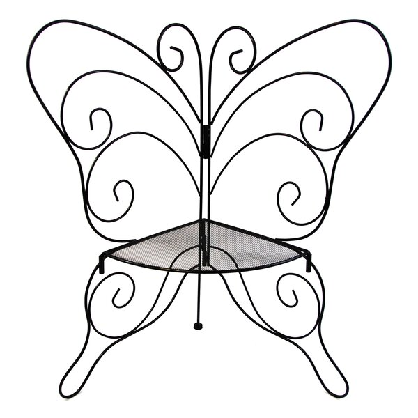Nara Decorative Butterfly Plant Stand by August Grove