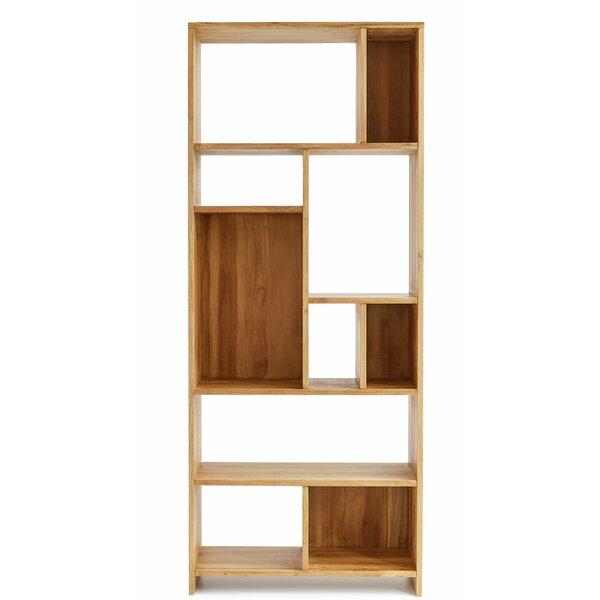 Bergamo Geometric Bookcase By Design Ideas