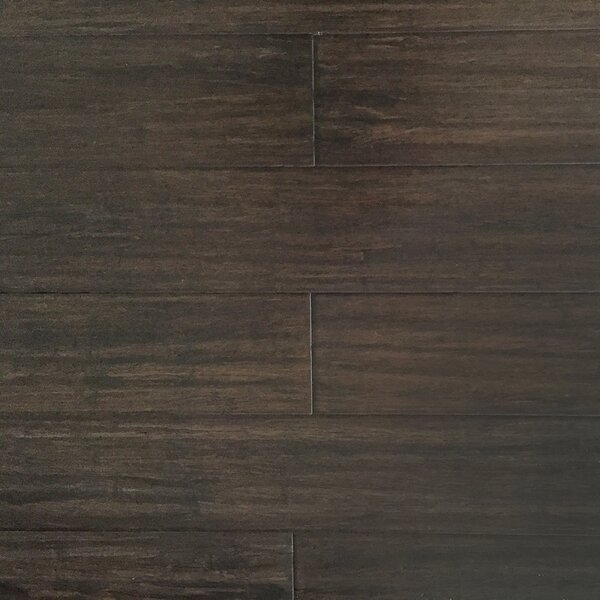 5-17/27 Solid Strandwoven Bamboo Flooring in Amaretto by ECOfusion Flooring