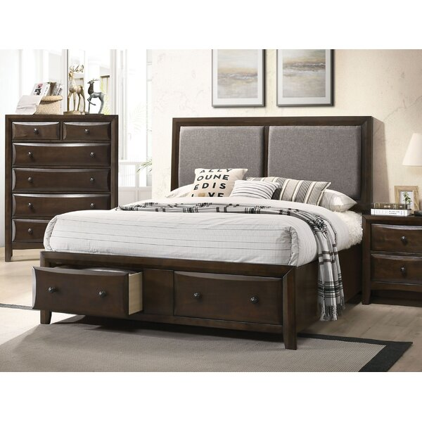 Abell Fabric Upholstered Storage Platform Bed by Winston Porter