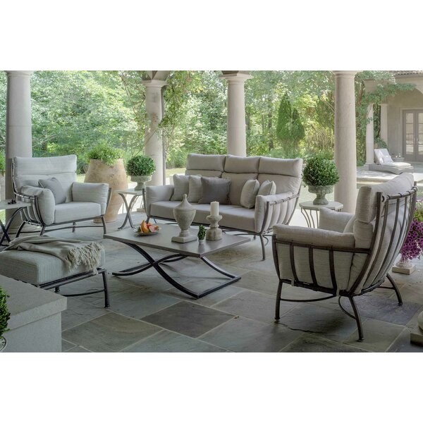 Majorca Patio 4 Piece Deep Seating Group with Cushions by Summer Classics