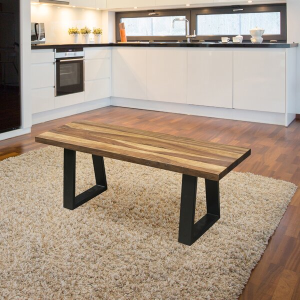 Robison Wood Bench by Williston Forge