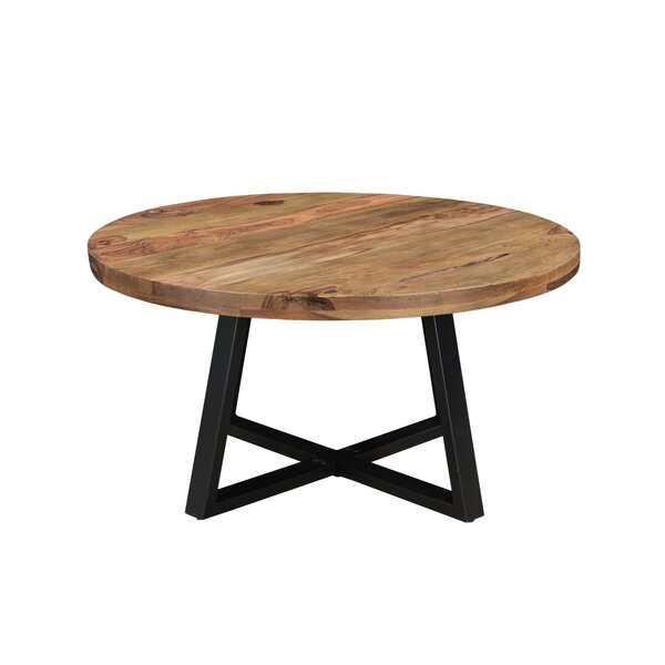 Sifuentes Cross Legs Coffee Table By Union Rustic