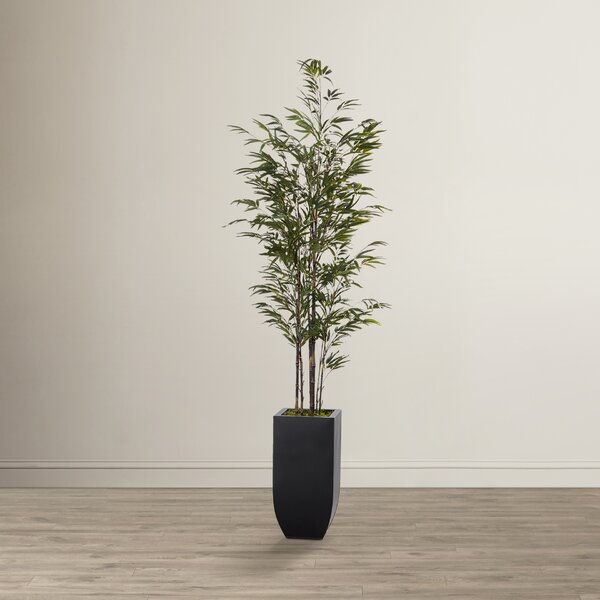 Artificial Bamboo Tree in Planter by Mistana