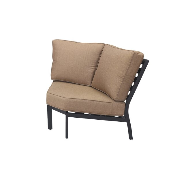 Kyree Modular Corner Patio Chair with Cushions by Darby Home Co