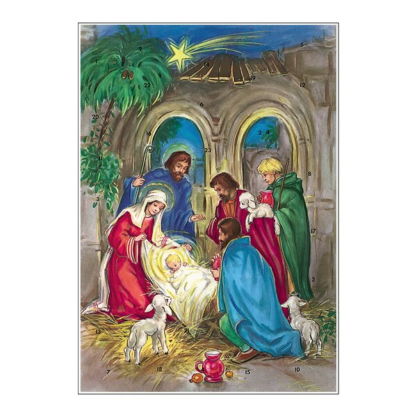 Korsch Nativity Scene Advent Calendar by Alexander Taron