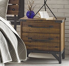 Caseareo 2 Drawer Nightstand By Trent Austin Design by Trent Austin Design Comparison