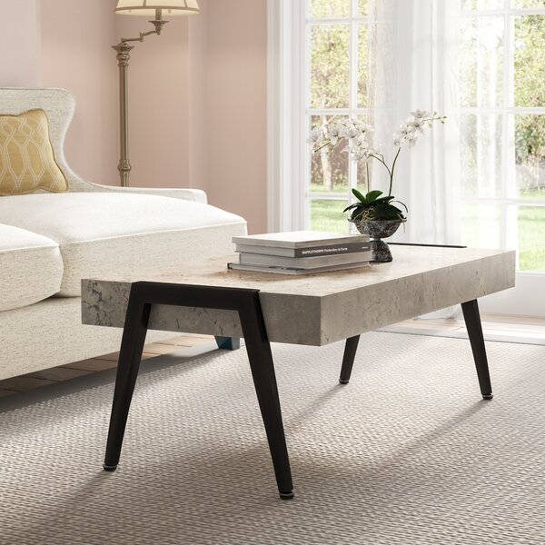 Ingerson Mid-Century Modern Coffee Table by Trent Austin Design