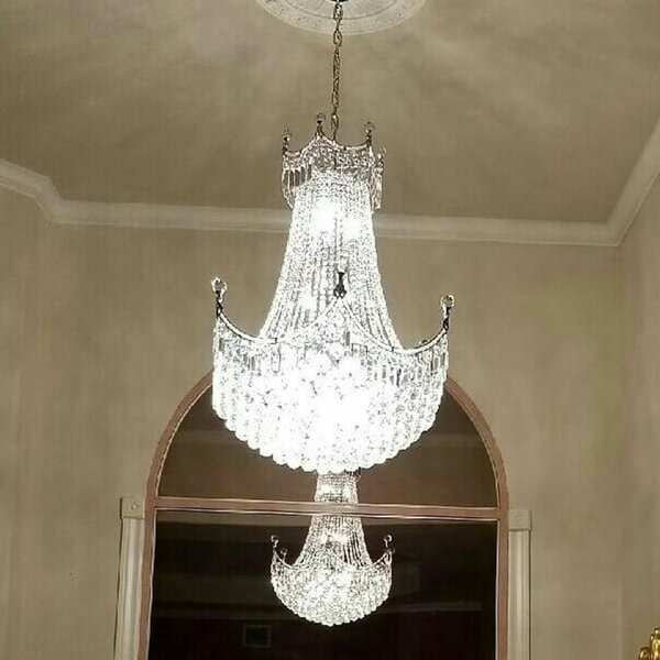 Carson 15 - Light Unique / Statement Empire Chandelier by House of Hampton House of Hampton