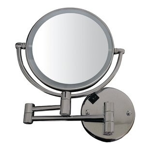 Best Reviews Kennell Dual Round Makeup/Shaving Mirror By Symple Stuff