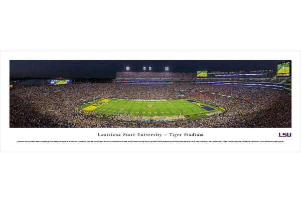 NCAA Louisiana State University by James Blakeway Photographic Print by Blakeway Worldwide Panoramas, Inc