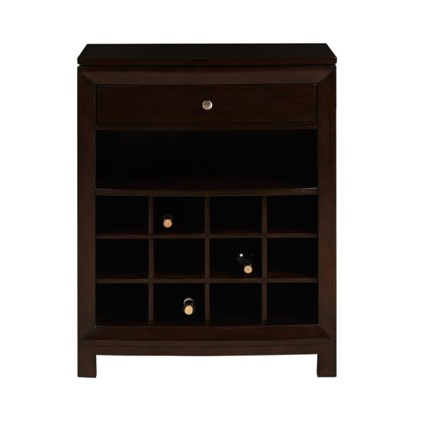 Jeffreys Bar with Wine Storage by Darby Home Co Darby Home Co