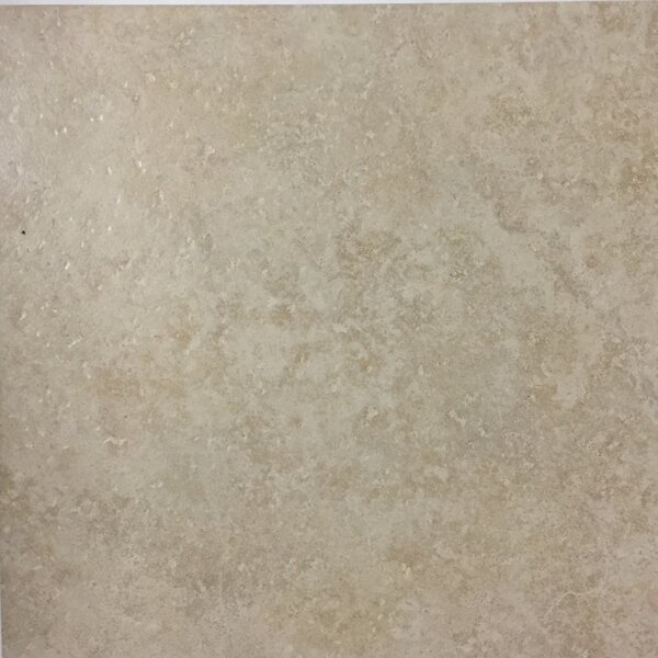 Cristallo 13 x 13 Porcelain Field Tile in Beige by Kellani
